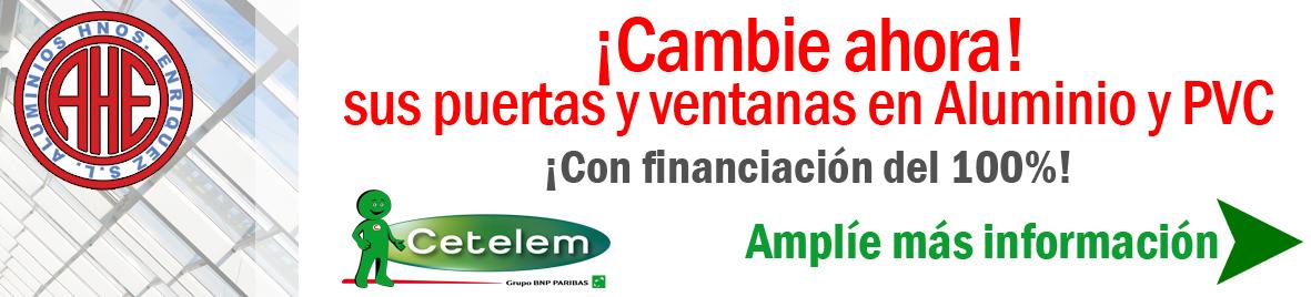 financiacion carpinteria de aluminio Madrid