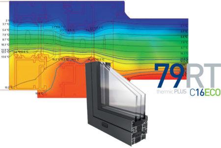 carpinteria aluminio transmitancia termica abatible 179rtc16eco