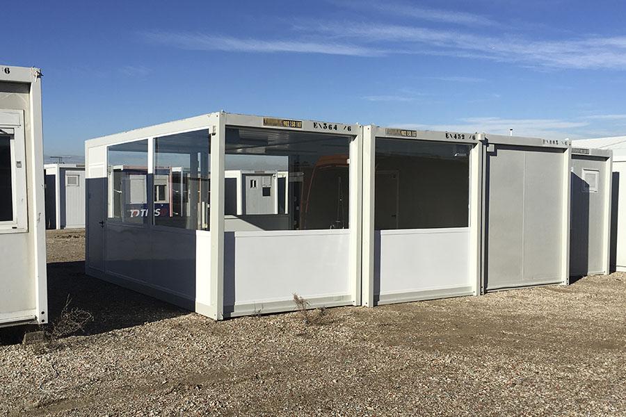 casetas de aluminio modulares