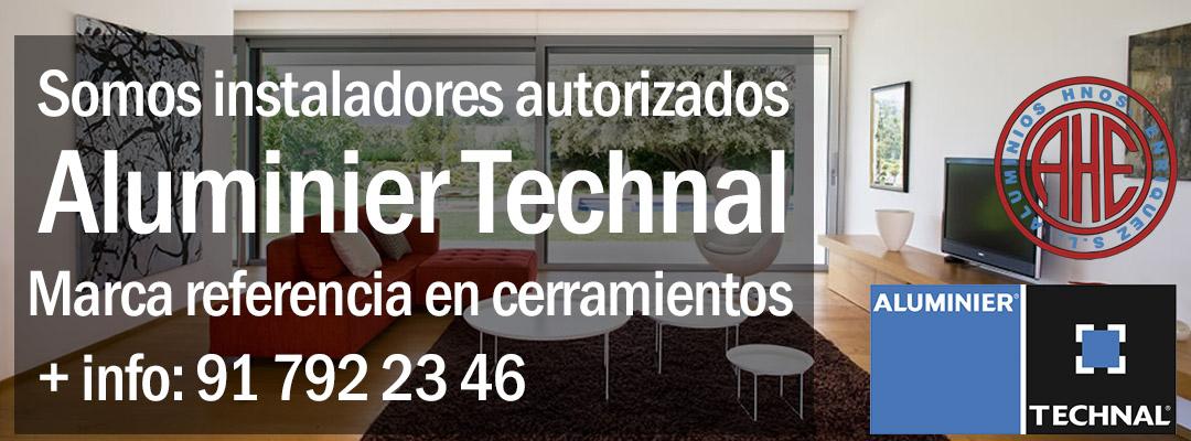 Instaladores autorizados Aluminier Technal